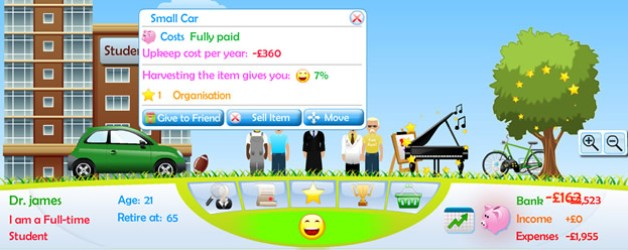 Social Game Design for Social Networks