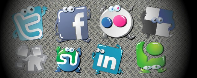 Social Network Design Examples and Best Practise
